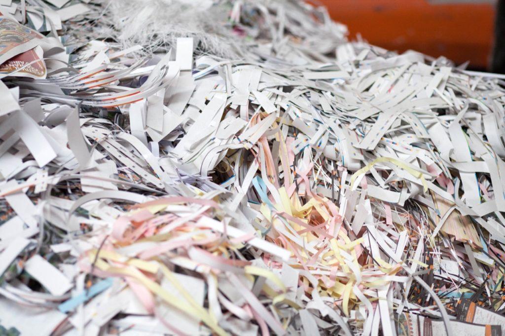 Monseu Recycling : Les chutes de production