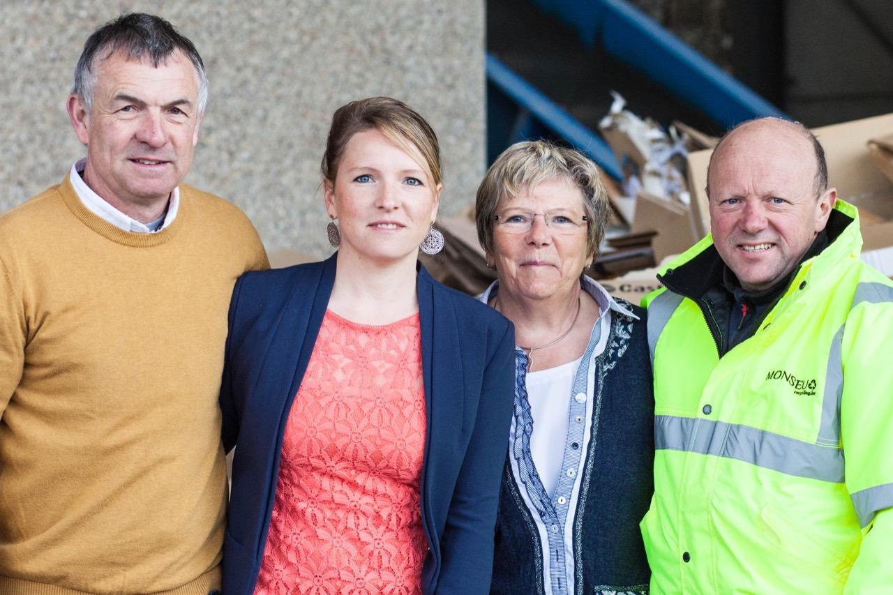 Monseu recycling : entreprise familiale de recyclage papier carton plastique