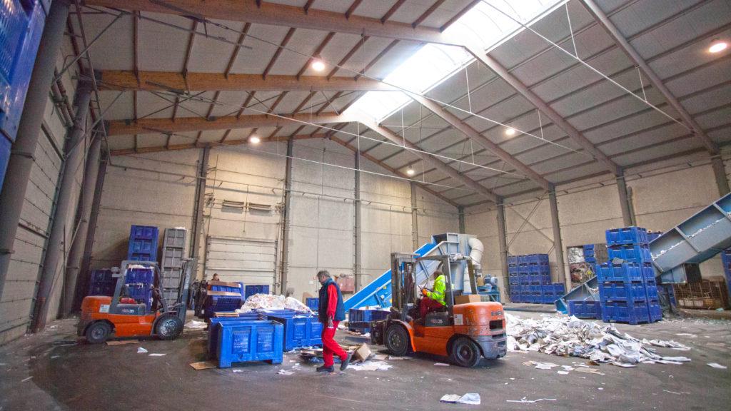 Monseu recycling : recyclage papier carton plastique